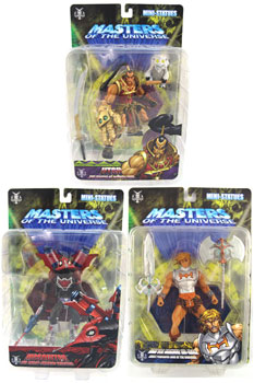 Master Of The Universe Mini-Statue Series 6 Set of 3