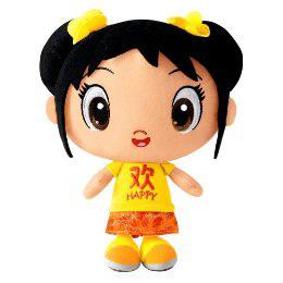 Ni Hao Kai Lan - 8-Inch Kai-Lan Super Emotions Doll Happy