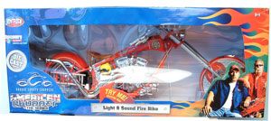 Light and Sound Fire Bike 1:24