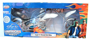 Light and Sound Jet Bike 1:24