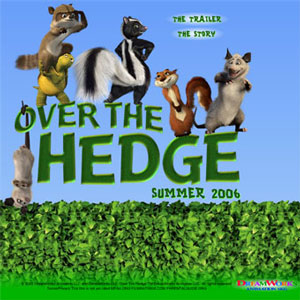 8-Inch Over The Hedge Plush Set of 5