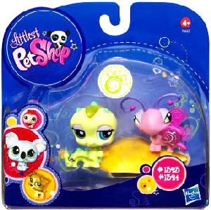 Littlest Pet Shop - 2-Pack - Inchworm and Butterfly