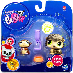 Littlest Pet Shop - 2-Pack - Porcupine and Hamster