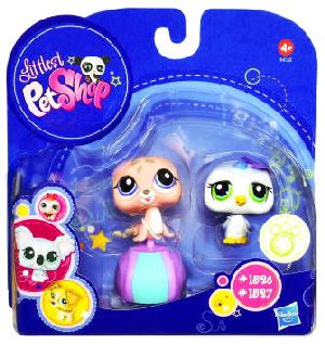 Littlest Pet Shop - 2-Pack - Penguin and Seal