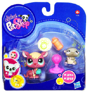 Littlest Pet Shop - 2-Pack - Kangaroo and Hamster
