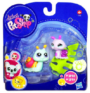 Littlest Pet Shop - 2-Pack - Pink and Blue Snails