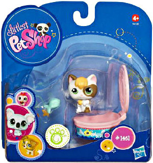 Littlest Pet Shop - Pet with Accessories - Kitten [1461]