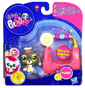 Littlest Pet Shop - Pet with Accessories - Special Edition Pet Lhasa Apso