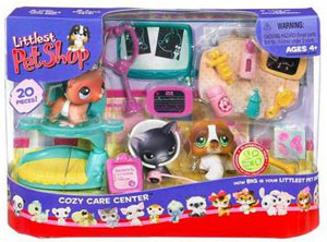 LITTLEST PET SHOP COZY CARE CENTER Playset