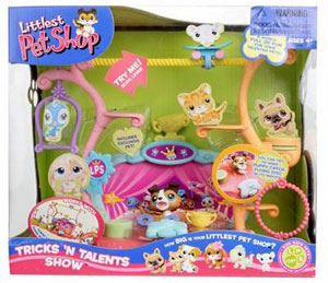 LITTLEST PET SHOP TRICKS AND TALENTS SHOW Playset
