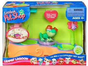LITTLEST PET SHOP LEAPIN LAGOON Playset