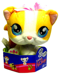 Littlest Pet Shop - Kitty Bobble Head Plush