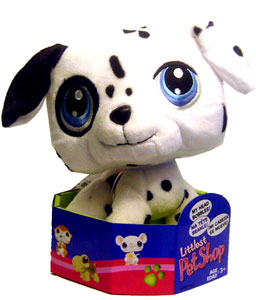 Littlest Pet Shop - Dog Bobble Head Plush