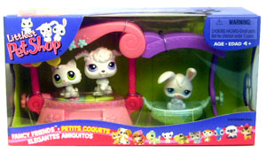 Littlest Pet Shop - Fancy Friends Playset