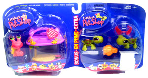 Littlest Pet Shop - Hermit Crab and Duo Turtle