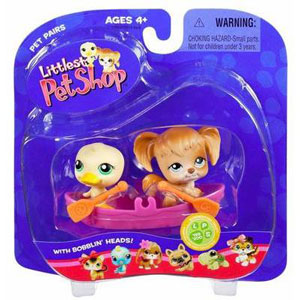 Littlest Pet Shop -  Duck and Dog(199-200)