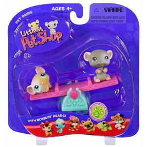 Littlest Pet Shop -  Mouse Pair