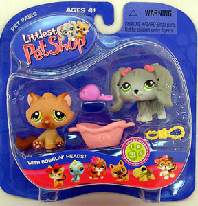 Littlest Pet Shop -  Dog and Cat (193-194)