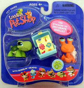 Littlest Pet Shop -  Turtle and Hermit Crab