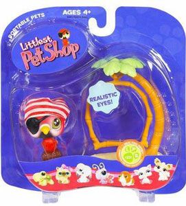 Littlest Pet Shop - Parrot with Swing