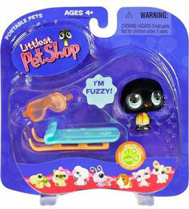 Littlest Pet Shop - Penguin with Sled