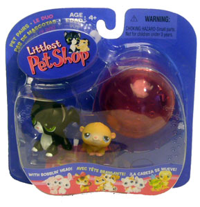 Littlest Pet Shop - Hamster & Longhair Cat