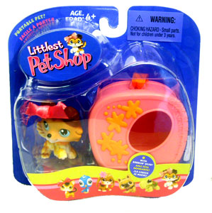 Littlest Pet Shop - Collie with Cage