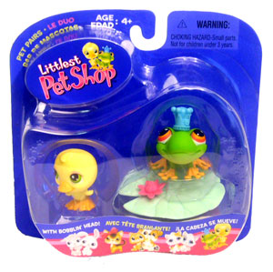 Littlest Pet Shop - Frog & Duck