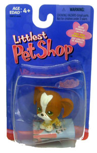 Littlest Pet Shop - Springer Spaniel with Tiara