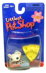 Littlest Pet Shop - Mouse with Cheese