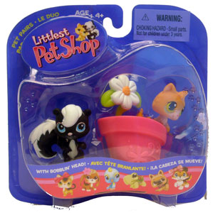 Littlest Pet Shop - Skunk & Kitty