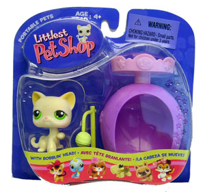 Littlest Pet Shop - Cat with Scratching Post