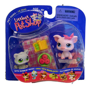 Littlest Pet Shop - Pig & Kitten