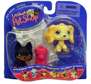 Littlest Pet Shop - 2 Doggies Potty Training