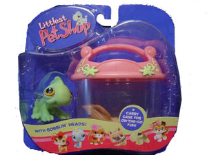 Littlest Pet Shop - Iguana with Cage