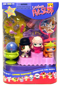 LITTLEST PET SHOP Totally Talented Pets Playpack
