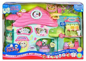 LITTLEST PET SHOP BIGGEST LITTLEST PET SHOP Playset