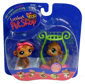 Littlest Pet Shop - Duo Monkey
