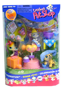 LITTLEST PET SHOP Birthday Pack Figures
