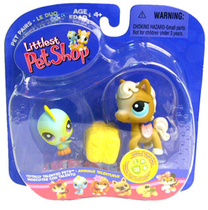 Littlest Pet Shop - Bird and Horse