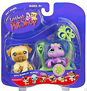Littlest Pet Shop - Bulldog and Spider