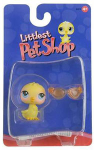 Littlest Pet Shop - Bird with Orange Sunglasses
