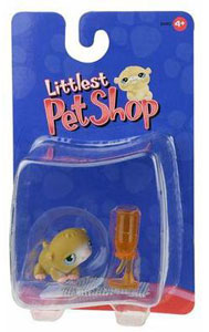 Littlest Pet Shop - Hamster with Bottle
