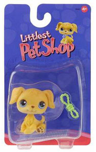 Littlest Pet Shop - Golden Retriever with Rope
