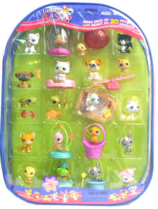 Mega Pack 20 of Littlest Pet Shop