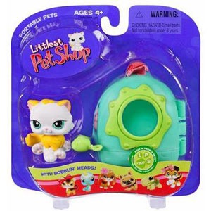 Littlest Pet Shop - Cat with Carrier -207