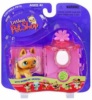 Littlest Pet Shop - Dog with Vanity