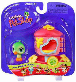 Littlest pet Shop - Hummingbird with Feeder