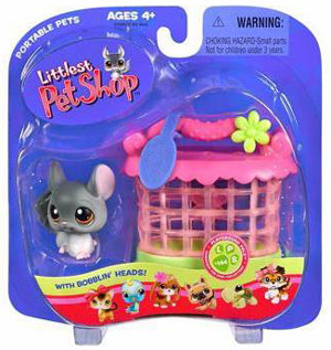 Littlest Pet Shop - Chinchilla with Hutch