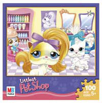 LITTLEST PET SHOP Puzzles 100 pieces - Salon